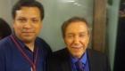 Carlos Esteve con Hector Salama